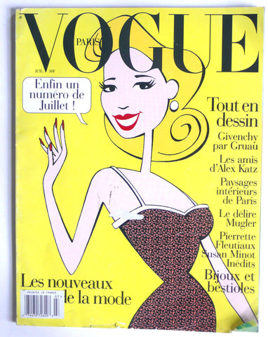 Paris Vogue Juillet 1995