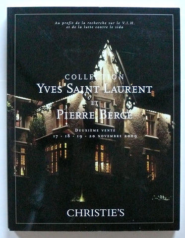 Collection Yves saint Laurent et Pierre Berge