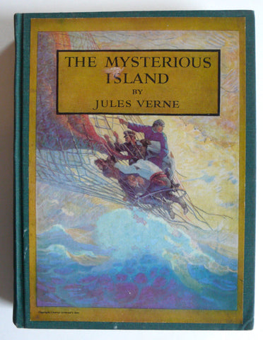 The Mysterious Island by Jules Verne  N. C. Wywth