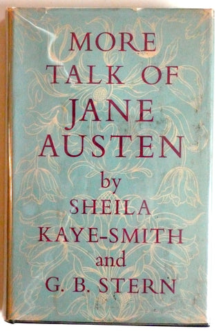 More Talk of Jane Austen