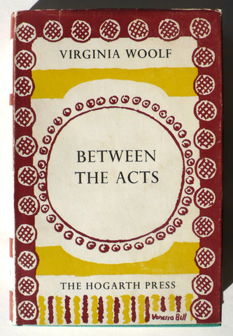 Between the Acts by Virginia Woolf Vanessa Bell jacket
