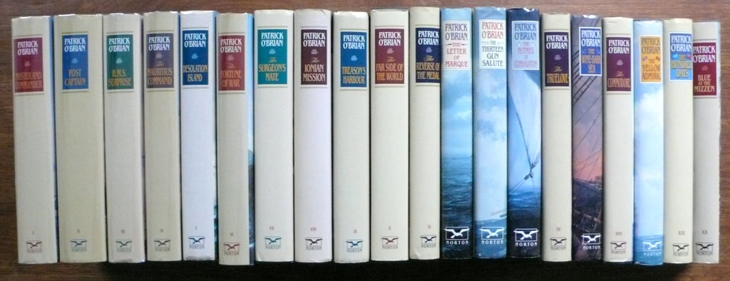 Aubrey-Maturin Novels by Patrick O'Brian Complete in twenty volumes