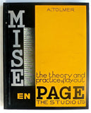 Mise en Page The Theory and Practice of Lay-out by A. Tolmer