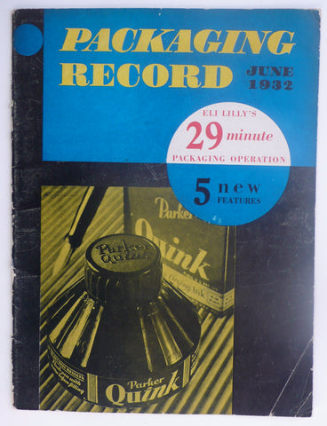 Packaging Record June 1932