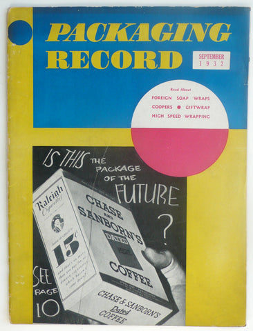 Packaging Record September 1932