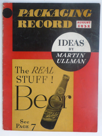 Packaging Record August 1932