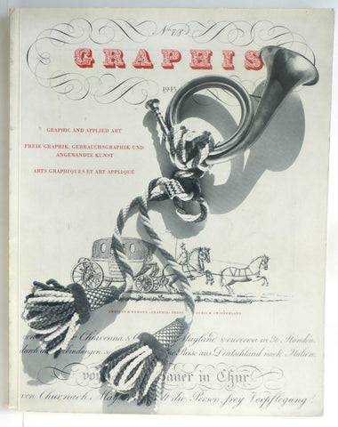 Graphis magazine No 7/8 1945