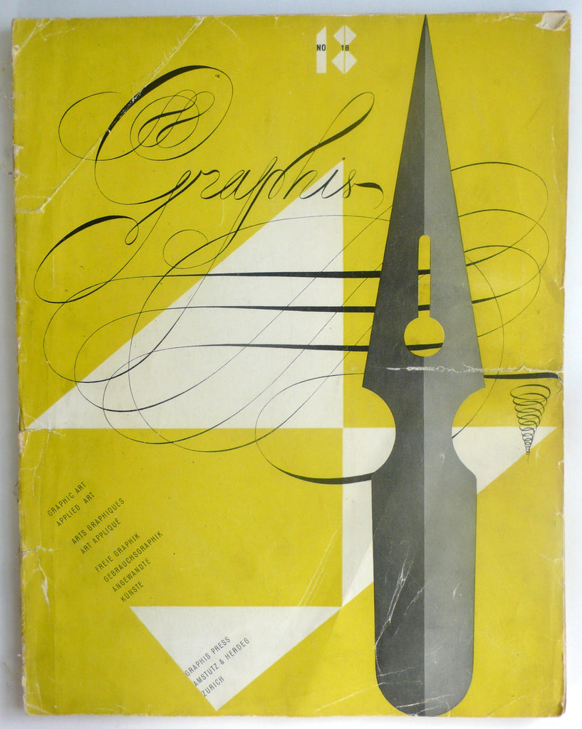 Graphis magazine No 18 1947