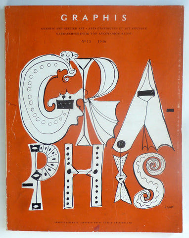 Graphis magazine No 13 1946