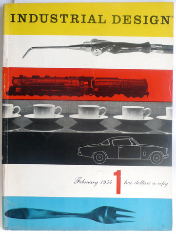 Industrial Design 1 [February 1954, Volume 1, Number 1]