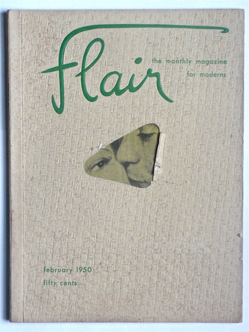 Flair magazine pre-publication issue