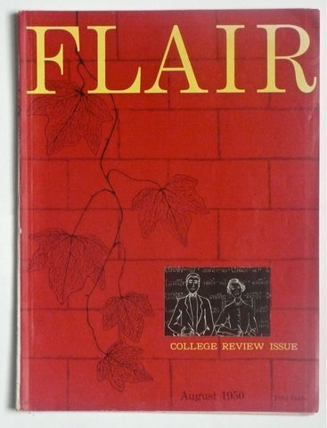 "Flair Magazine  ""College Review Issue"" August 1950"