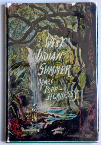 West Indian Summer by James Pope Hennessy (Cecil Beaton dust jacket)
