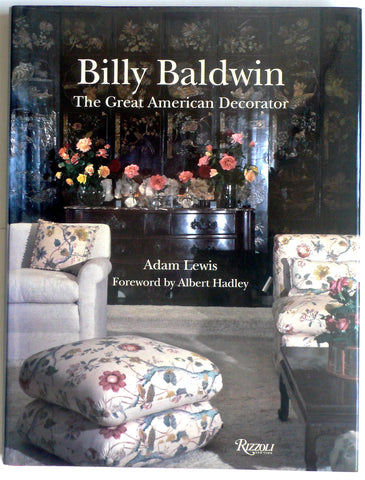 Billy Baldwin The Great American Decorator