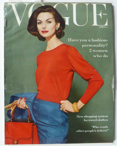 Vogue magazine April 1, 1959