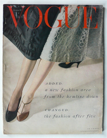 Vogue magazine October 15, 1953