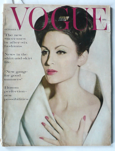 Vogue magazine October 15, 1959