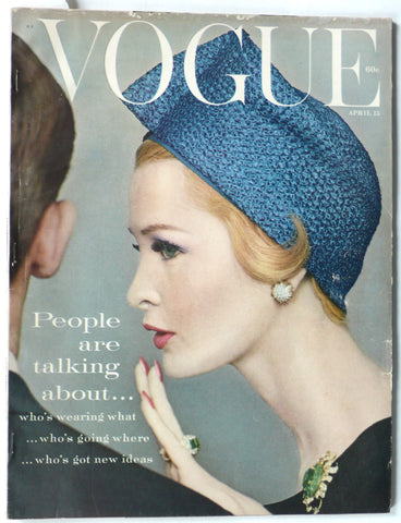 Vogue magazine April 15, 1959