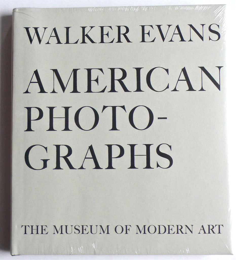 Walker Evans : American Photographs