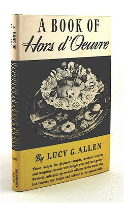 A Book of Hors d'Oeuvre