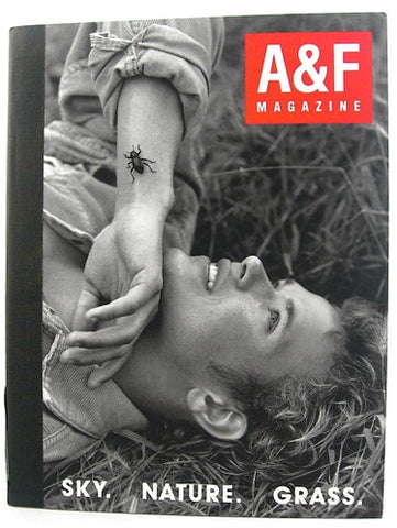 A&F Magazine Issue #1 Fall 2004 Sky Nature Grass
