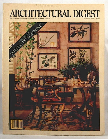 Architectural Digest  January 1982