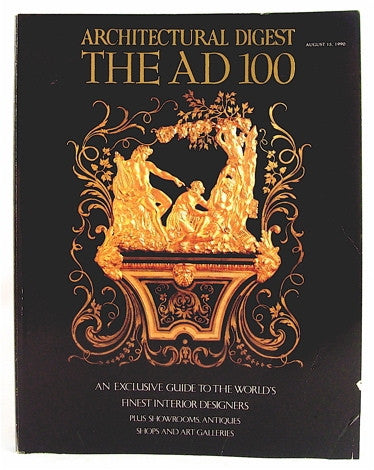 Architectural Digest  The AD 100 August 15, 1990