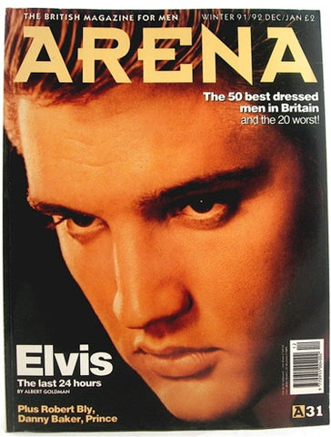 Arena magazine December/ January 91/92
