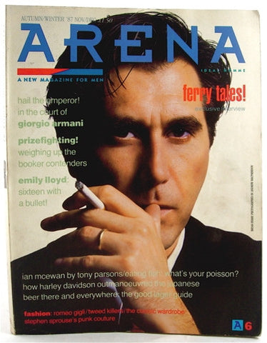 Arena magazine Nov/Dec 1987