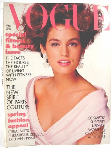 British Vogue  April 1987