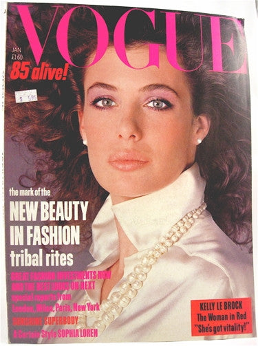 British Vogue  January 1985