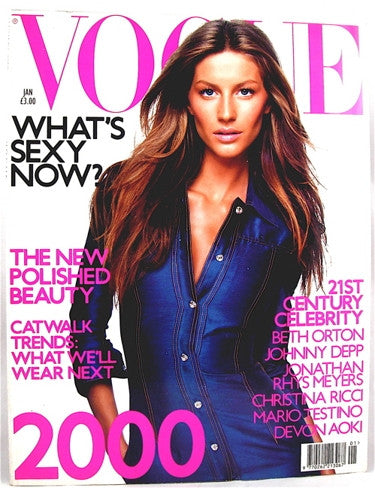 British Vogue  January 2000
