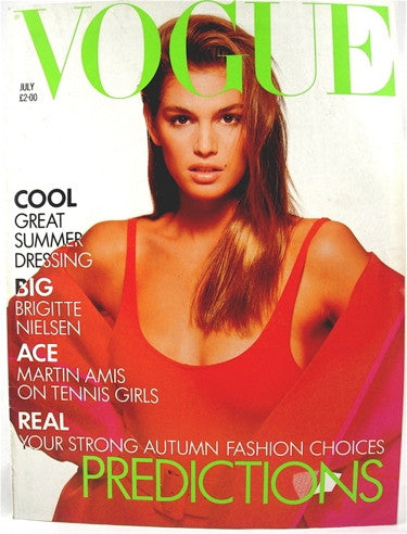 British Vogue  July 1988