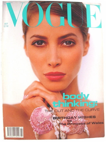 British Vogue  July 1991