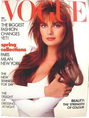 British Vogue  March 1987