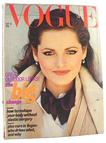 British Vogue  October 15, 1977