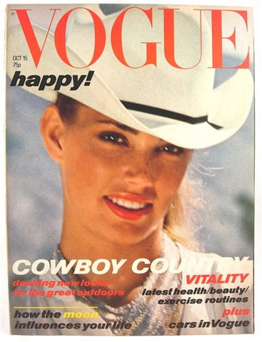 British Vogue  October 15, 1978