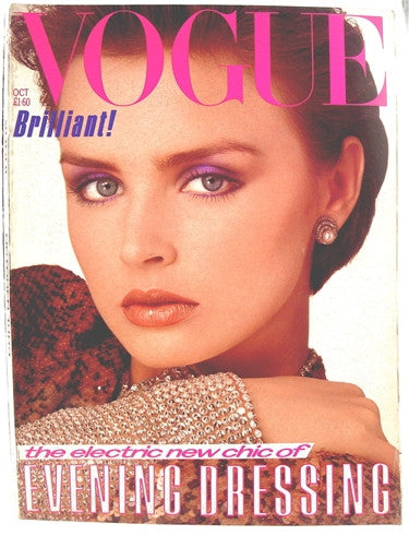 British Vogue  October 1983