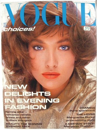 British Vogue  October 1985