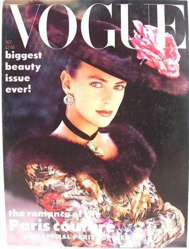 British Vogue  October 1987