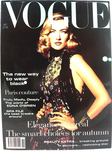 British Vogue  October 1992