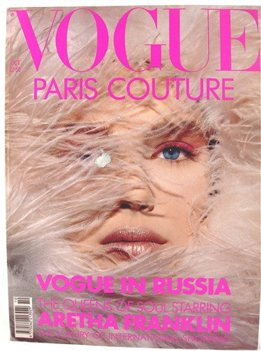 British Vogue  October 1990