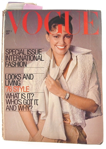 British Vogue  September 1, 1976