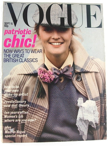 British Vogue  September 15, 1977