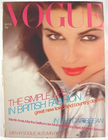 British Vogue  September 15, 1979