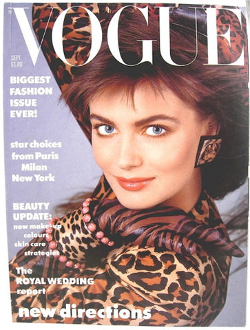 British Vogue  September 1986