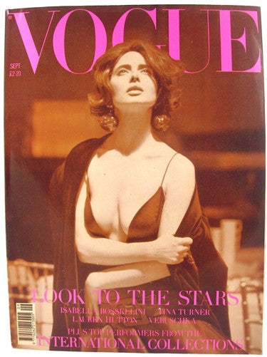 British Vogue  September 1989