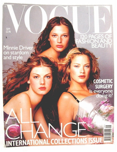 British Vogue  September 1998