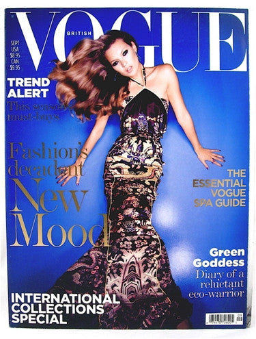 British Vogue  September 2004