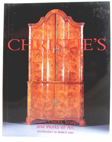 Christie's Amsterdam  Furniture, Clocks Sculpture and Works of Art